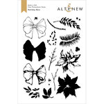 Altenew - Christmas - Clear Photopolymer Stamps - Holiday Bow
