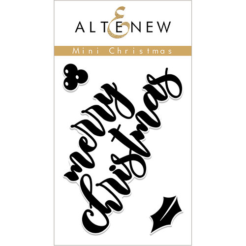 Altenew - Christmas - Clear Photopolymer Stamps - Mini Christmas