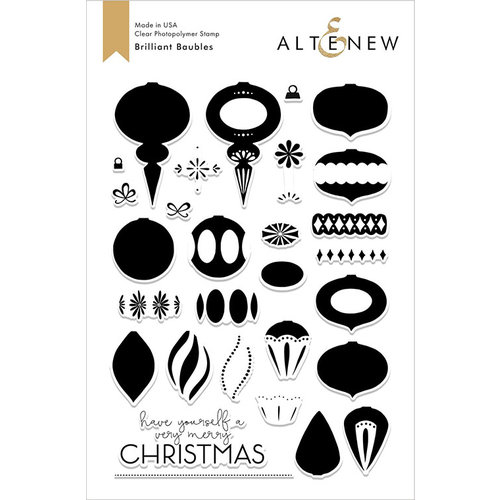 Altenew - Clear Photopolymer Stamps - Brilliant Baubles