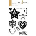 Altenew - Clear Photopolymer Stamps - Peace Love Joy