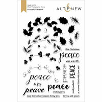 Altenew - Clear Photopolymer Stamps - Peaceful Wreath