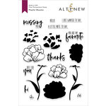 Altenew - Clear Photopolymer Stamps - Playful Blooms