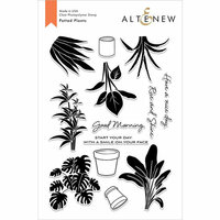 Altenew - Clear Photopolymer Stamps - Potted Plants