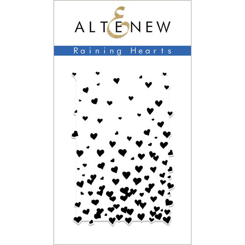 Altenew - Clear Photopolymer Stamps - Raining Hearts