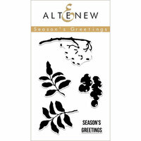 Altenew - Clear Photopolymer Stamps - Season's Greetings