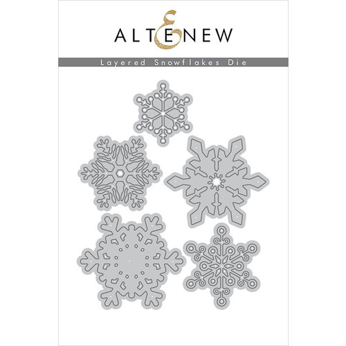 Altenew - Dies - Layered Snowflakes