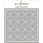 Altenew - Stencil - Beveled Squares