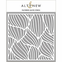 Altenew - Stencil - Feathered Leaves