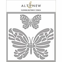 Altenew - Stencil - Flowing Butterfly