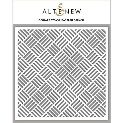 Altenew - Stencil - Square Weave Pattern