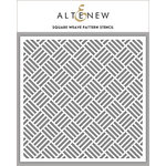 Altenew - Stencil - Square Weave Pattern
