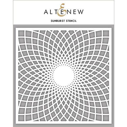 Altenew - Stencil - Sunburst