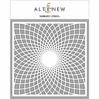 Altenew - Stencil - Sunburst