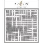 Altenew - Stencil - Wavy Grid