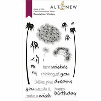 Altenew - Clear Photopolymer Stamps - Dandelion Wishes