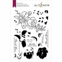 Altenew - Clear Photopolymer Stamps - Handpicked Bouquet