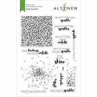 Altenew - Clear Photopolymer Stamps - Kind Confetti