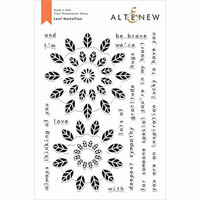 Altenew - Clear Photopolymer Stamps - Leaf Medallion