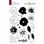 Altenew - Clear Photopolymer Stamps - Delicate Primrose