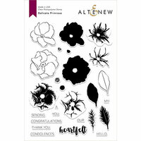 Altenew - Clear Photopolymer Stamps - Delicate Primrose