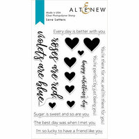 Altenew - Clear Photopolymer Stamps - Love Letters