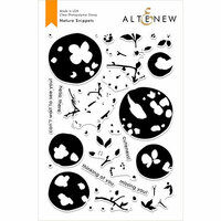 Altenew - Clear Photopolymer Stamps - Nature Snippets
