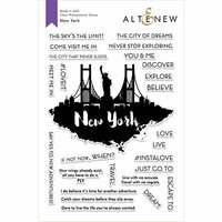 Altenew - Clear Photopolymer Stamps - New York