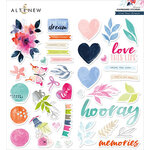 Altenew - Chipboard Stickers - Live Your Dream