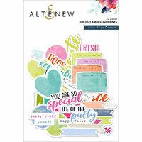 Altenew - Live Your Dream - Die Cut Cardstock Pieces