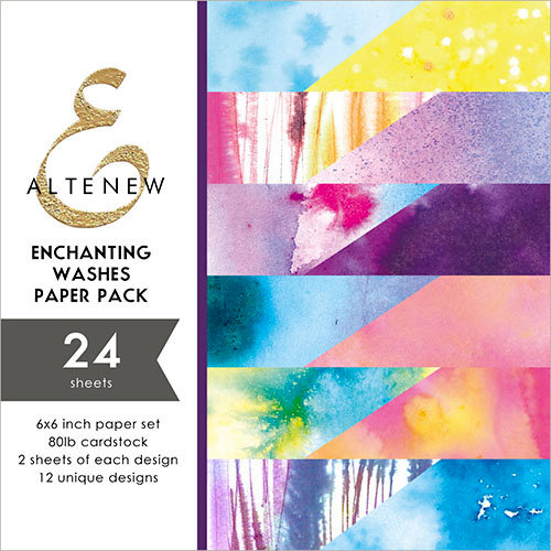 Altenew - Enchanting Wishes - 6 x 6 Paper Pack - 24 Sheets
