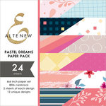 Altenew - Pastel Dreams - 6 x 6 Paper Pack