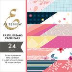 Altenew - Pastel Dreams - 6 x 6 Paper Pack - 24 Sheets