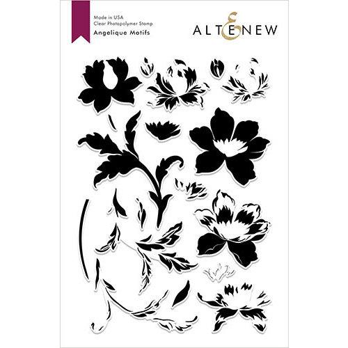 Altenew - Clear Photopolymer Stamps - Angelique Motifs