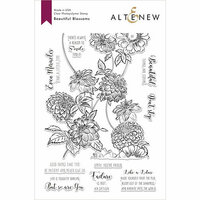 Altenew - Clear Photopolymer Stamps - Beautiful Blossoms