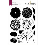 Altenew - Clear Photopolymer Stamps - Bloom and Bud