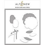 Altenew - Stencil - Bloom and Bud