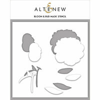 Altenew - Stencil - Bloom and Bud