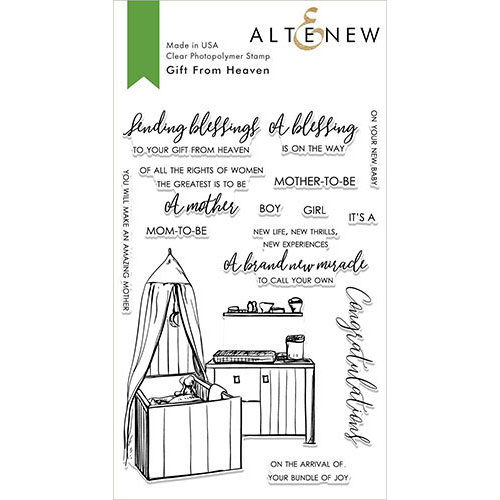 Altenew - Clear Photopolymer Stamps - Gift From Heaven