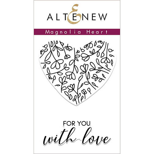 Altenew - Clear Photopolymer Stamps - Magnolia Heart