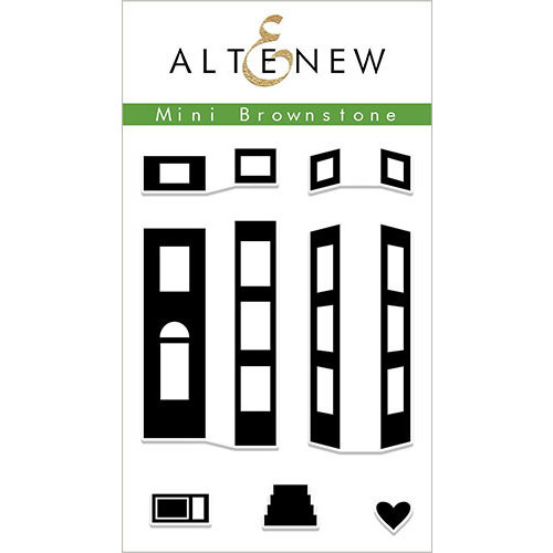 Altenew - Clear Photopolymer Stamps - Mini Brownstone