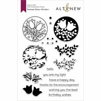 Altenew - Clear Photopolymer Stamps - Stained Glass Window
