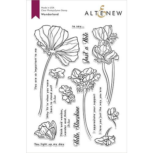 Altenew - Clear Photopolymer Stamps - Wonderland