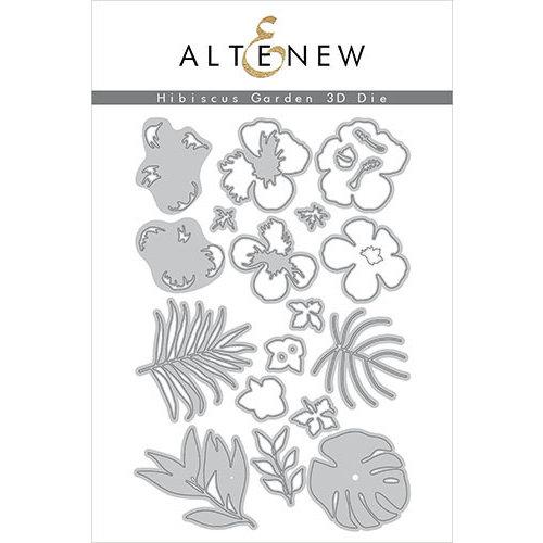 Altenew - Dies - Hibiscus Garden 3D