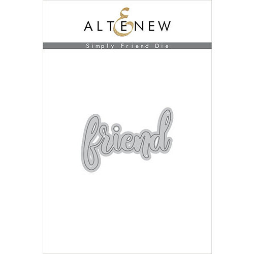 Altenew - Dies - Simply Friend