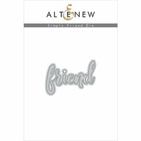 Altenew - Dies - Simply Friend
