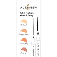 Altenew - Artist Markers - Warm and Cozy