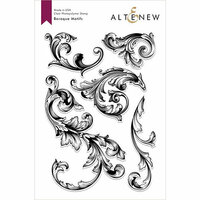 Altenew - Clear Photopolymer Stamps - Baroque Motifs