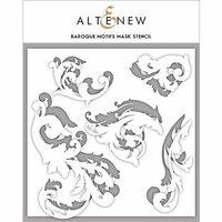 Altenew - Stencil - Baroque Motifs