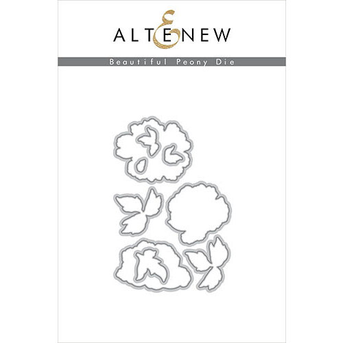 Altenew - Dies - Beautiful Peony