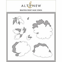Altenew - Stencil - Beautiful Peony